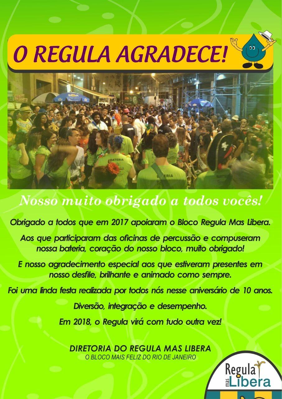Carnaval do Regula Mas Libera foi um sucesso