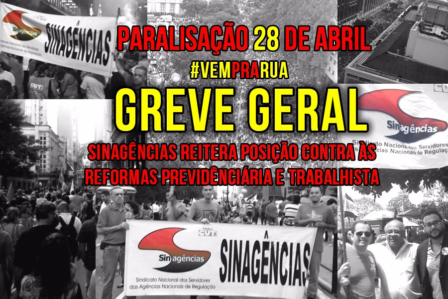 28 de Abril – Greve Geral contra as Reformas